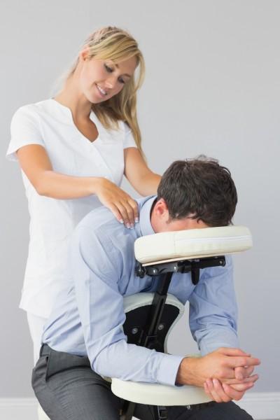 massage på arbejdspladsen